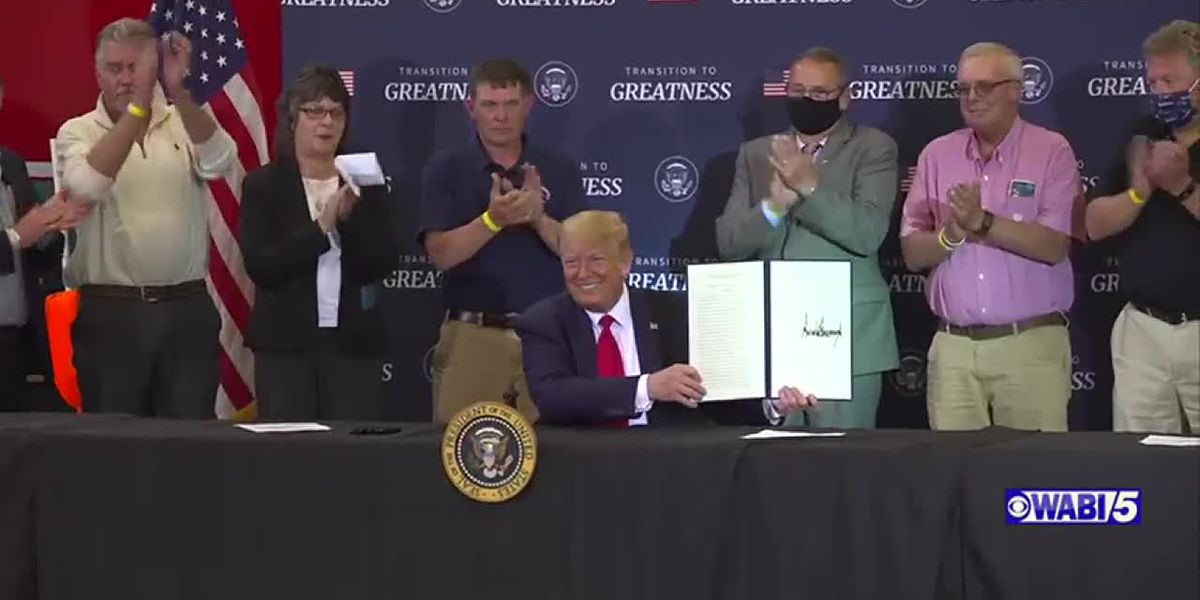 President Trump signs proclamation to end fishing restrictions in Maine marine monument waters
