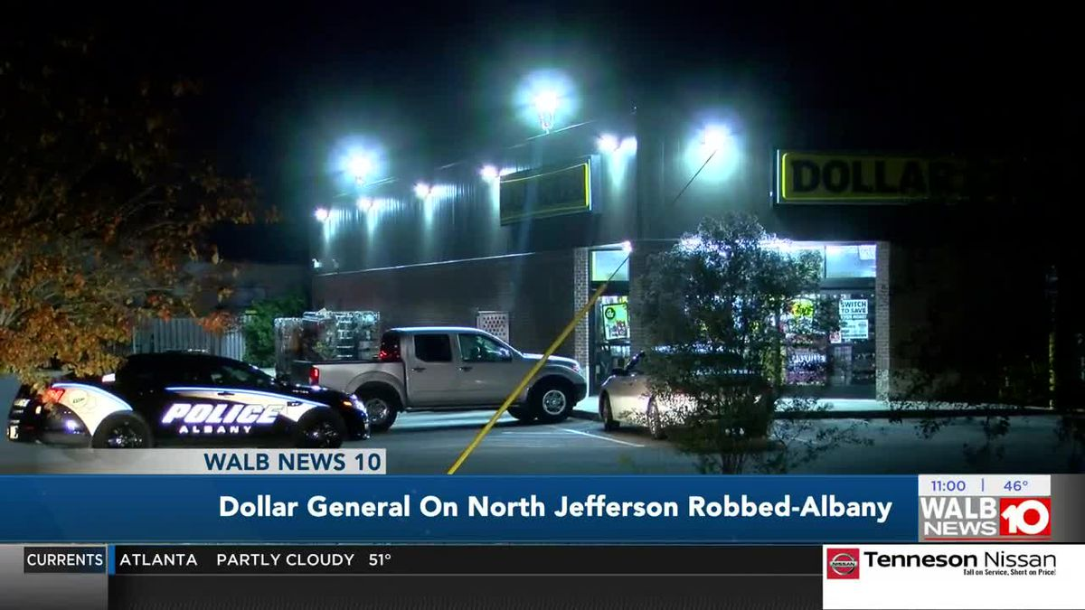 Albany police investigating Dollar General armed robbery