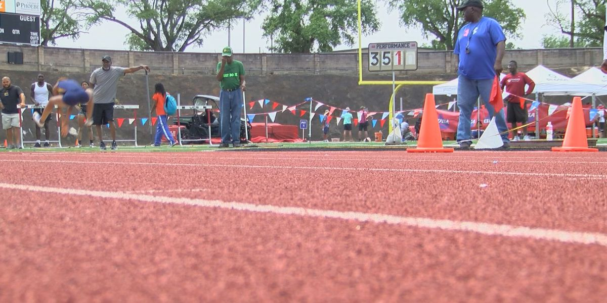 Day one of the 2019 GHSA Track and Field State Championships