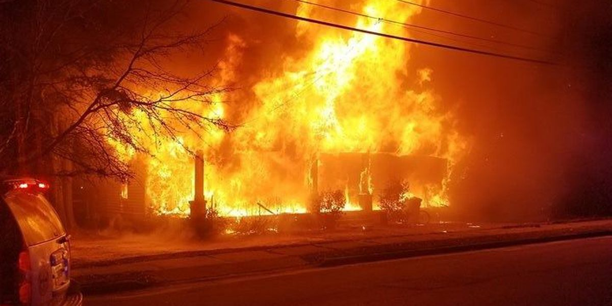 Ashburn house fire ruled arson, person of interest being questioned