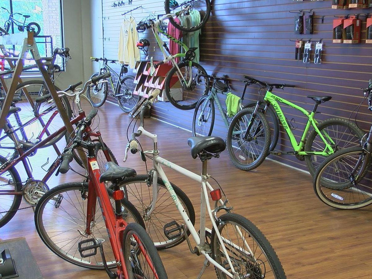 Bicycle shop focusing on repairs looking ahead as nationwide bike shortage continues