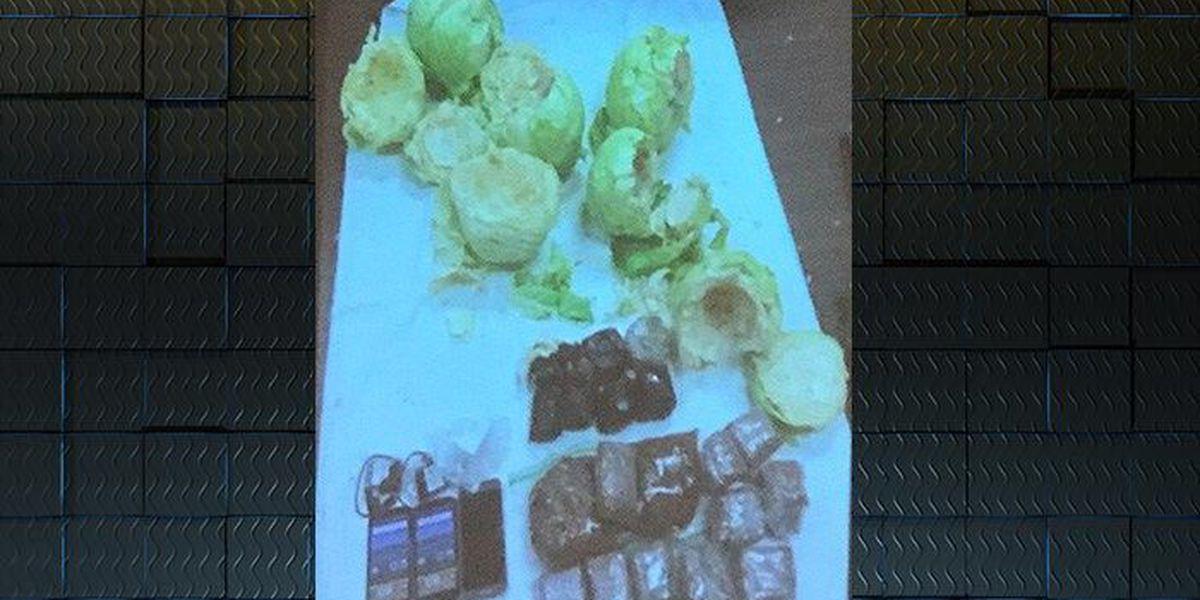 Contraband hidden in cabbage caught at Valdosta Prison