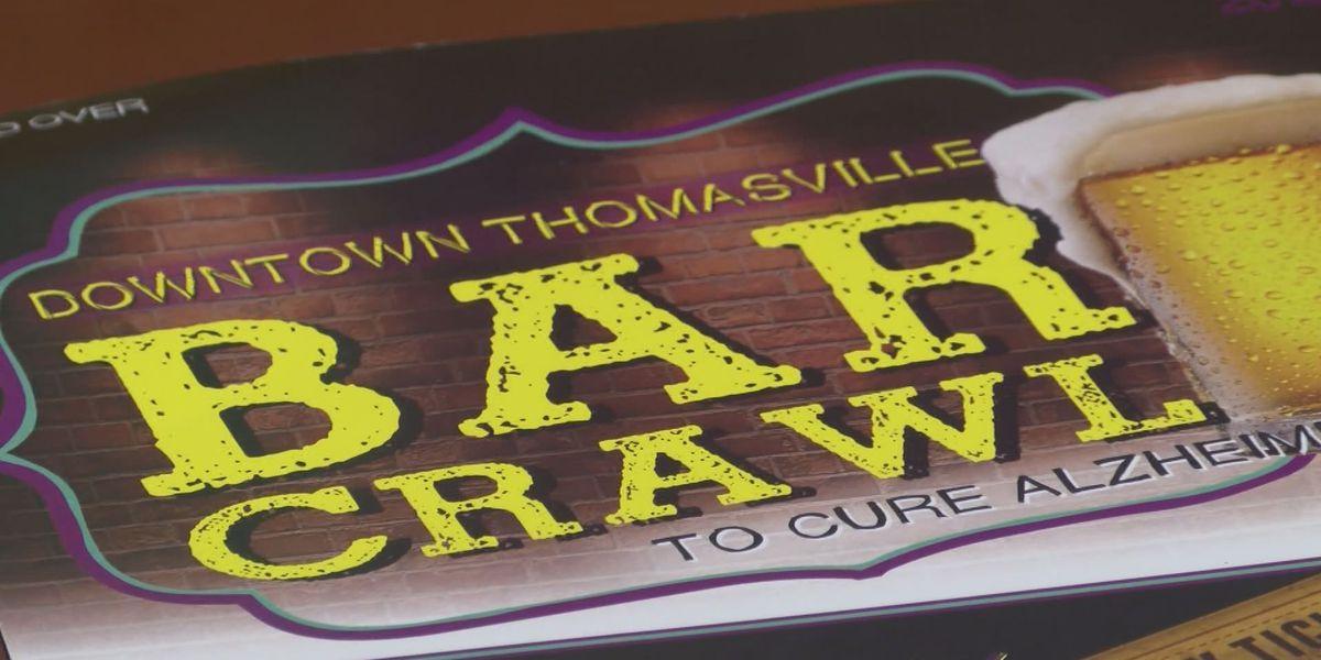 Thomasville group hosts bar crawl for Alzheimer's awareness