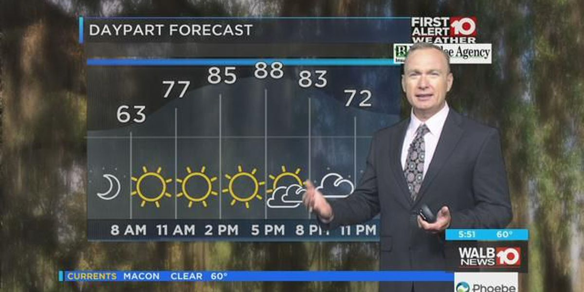First Alert Forecast: Very Warm & Dry