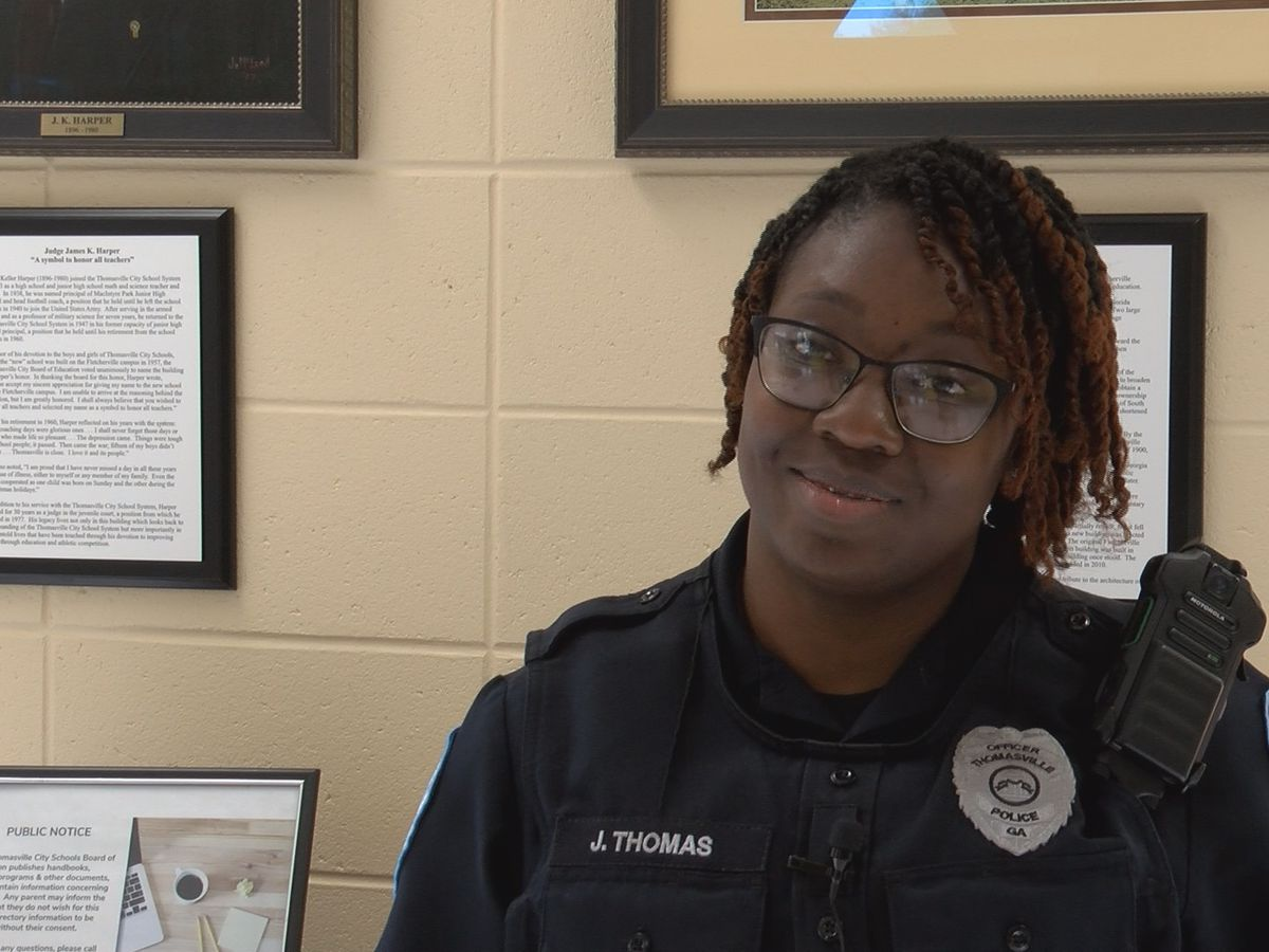 SWAT team welcomes first African American female officer