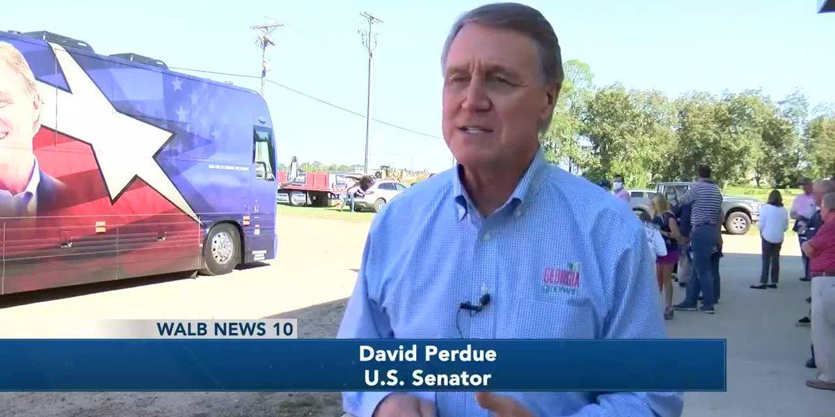 Sen. David Perdue visits Tifton
