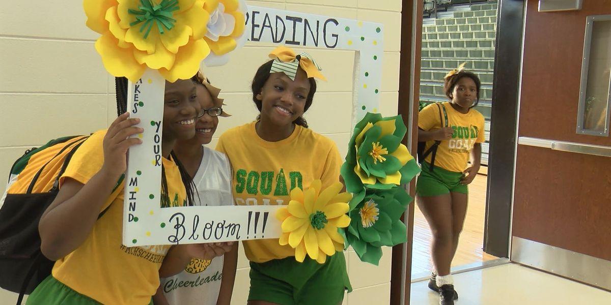 Monroe High School hosts literacy kickoff
