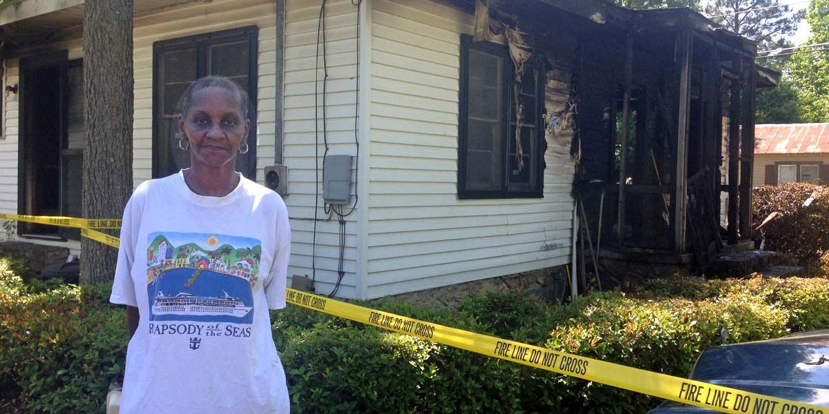 Neighbor saves family from house fire