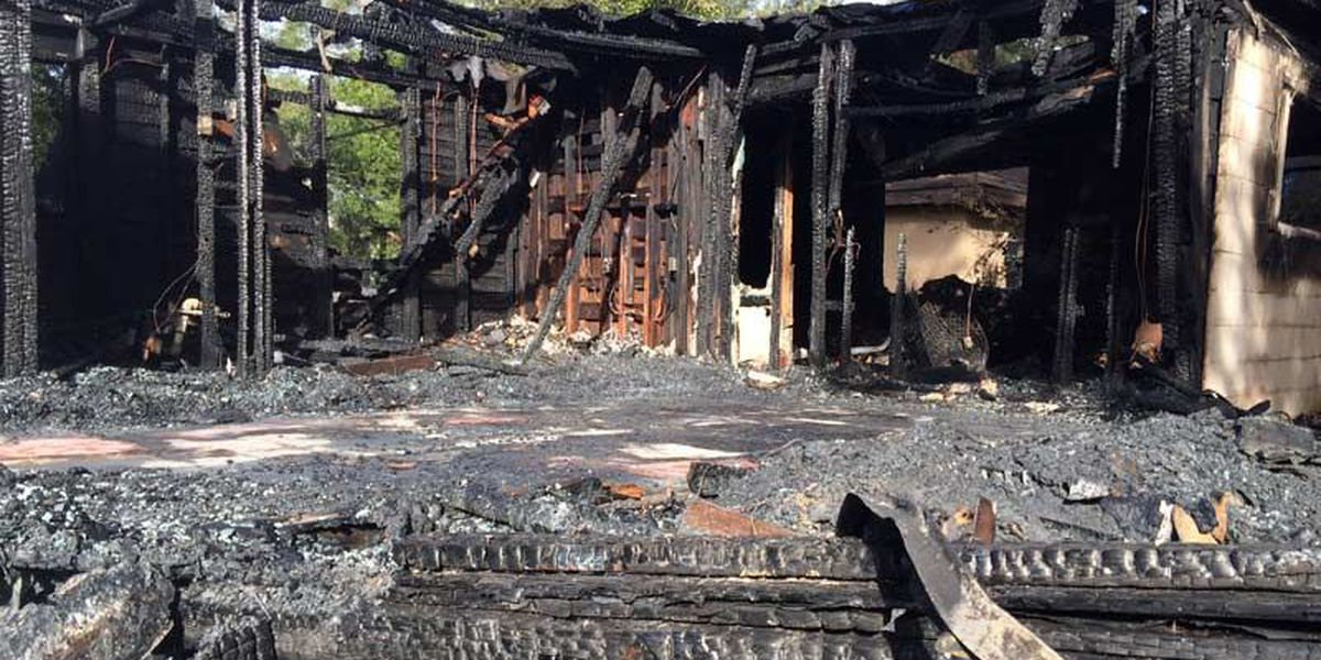 Albany house burns to the ground