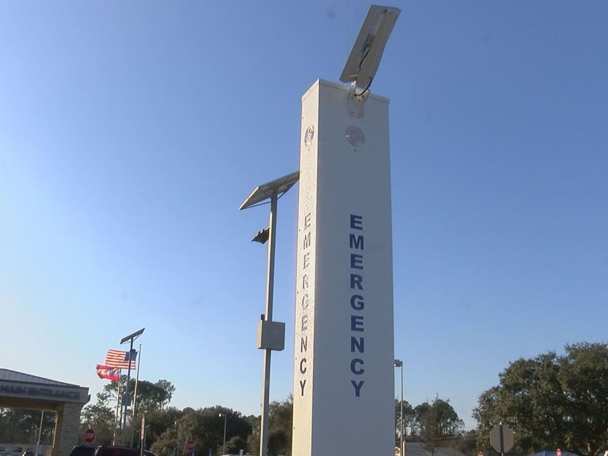 Emergency stations installed at Colquitt Regional