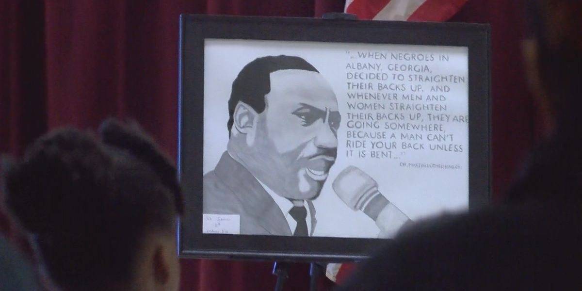 'This guy died for his dream': Dougherty Co. students honor the history made by MLK