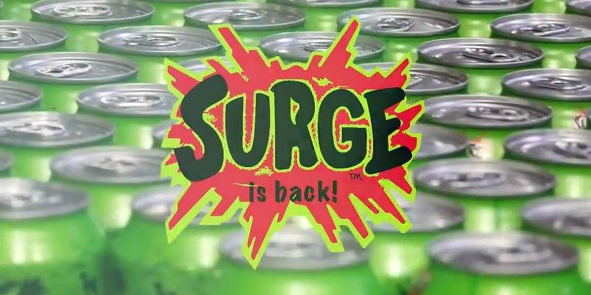 Yes, Coca-Cola is actually bringing Surge back