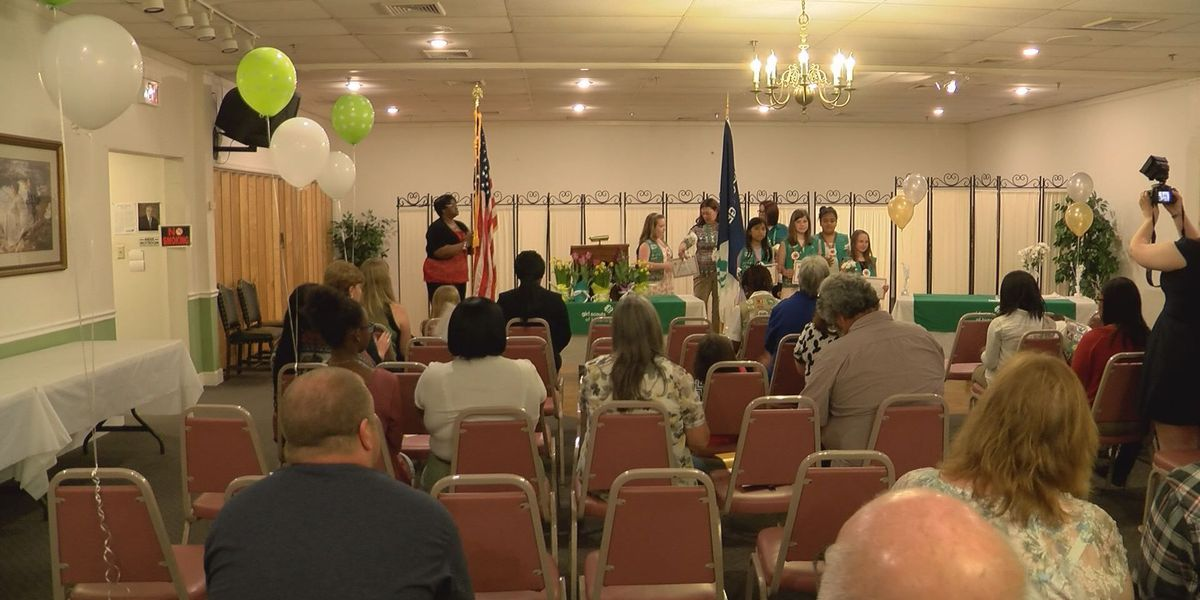 Girl Scouts host award ceremony for highest honors