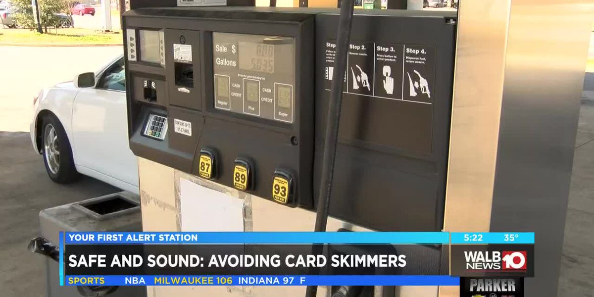 Safe and Sound: Avoiding card skimmers