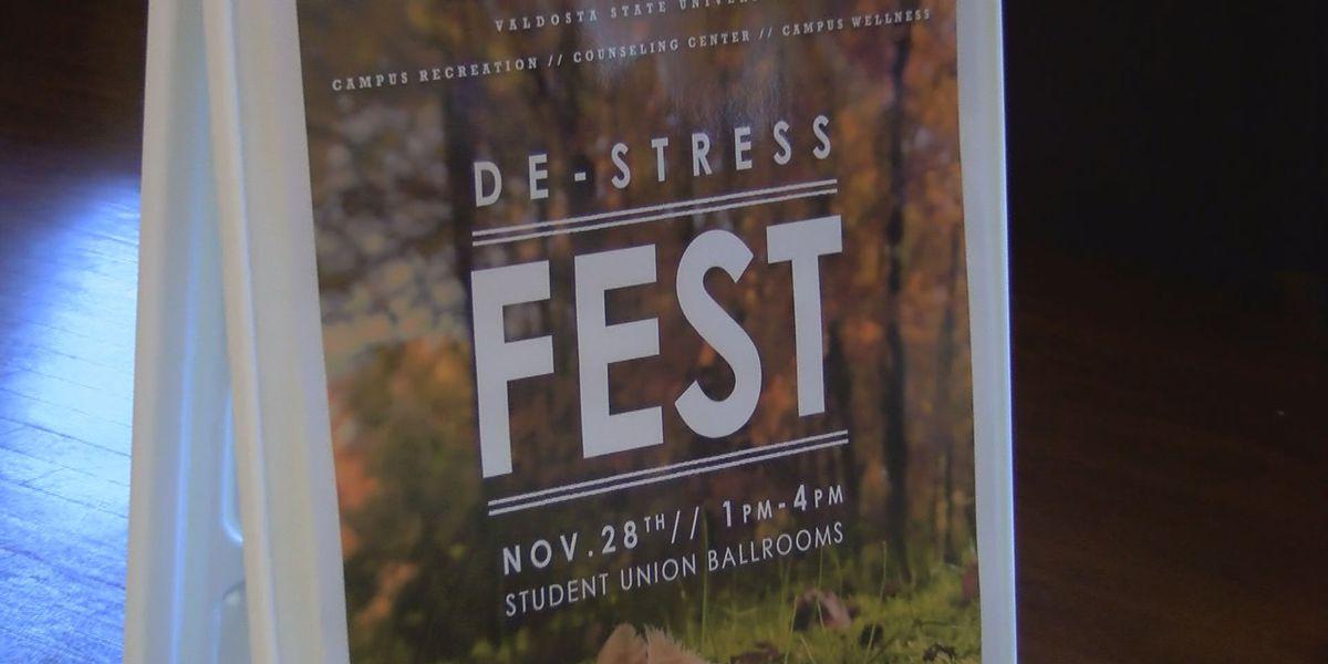 Valdosta State offers 'De-Stress Fest'