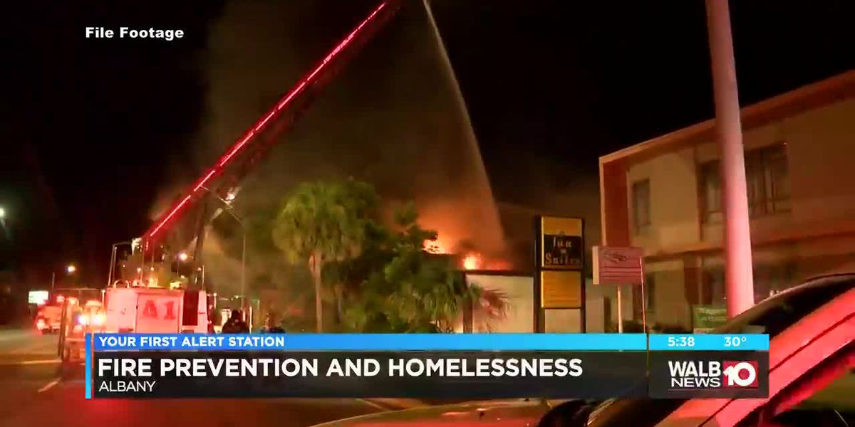 Fire prevention and homelessness in Albany