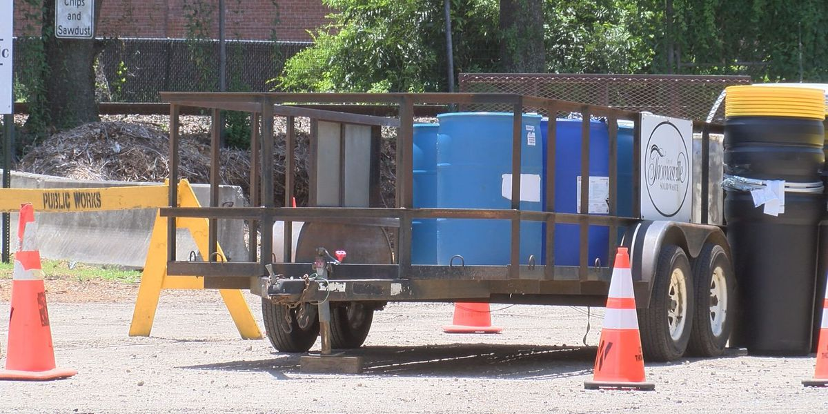 Chemical waste dumped at local recycling center