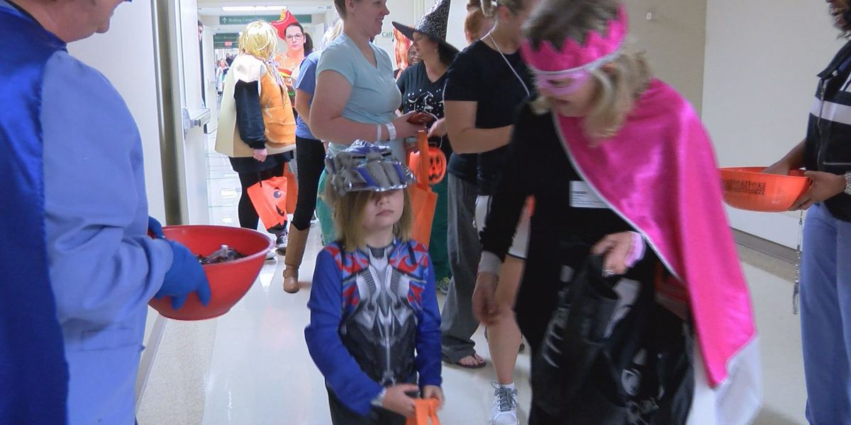 Young patients treated to Halloween fun at Phoebe Putney