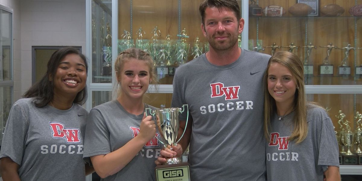 Lady Knights take home first soccer GISA state title