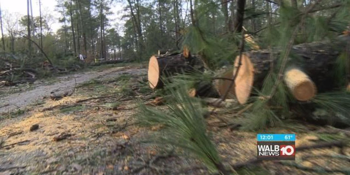 Albany officials hold storm recovery news conference