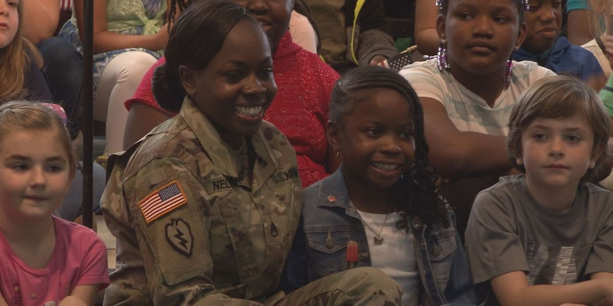 VIDEO: Army mom surprises daughter in emotional reunion