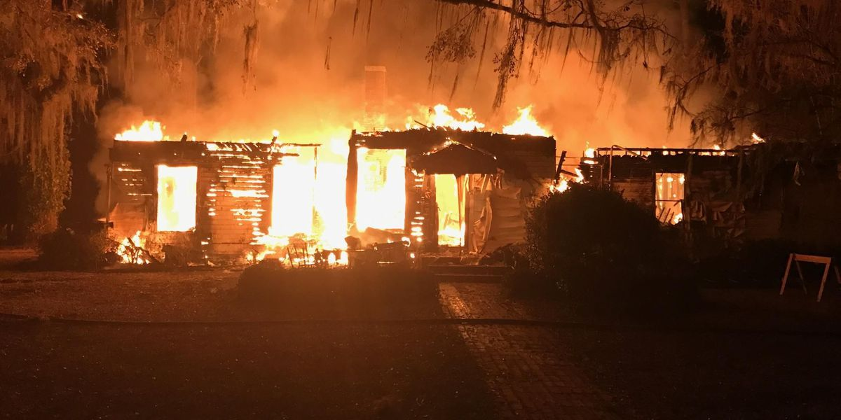 Crews respond to vacant house fire on Nilo Drive