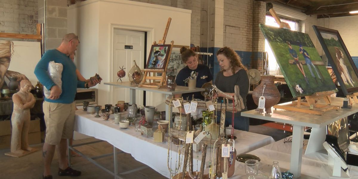 First Friday attracts folks to downtown Americus