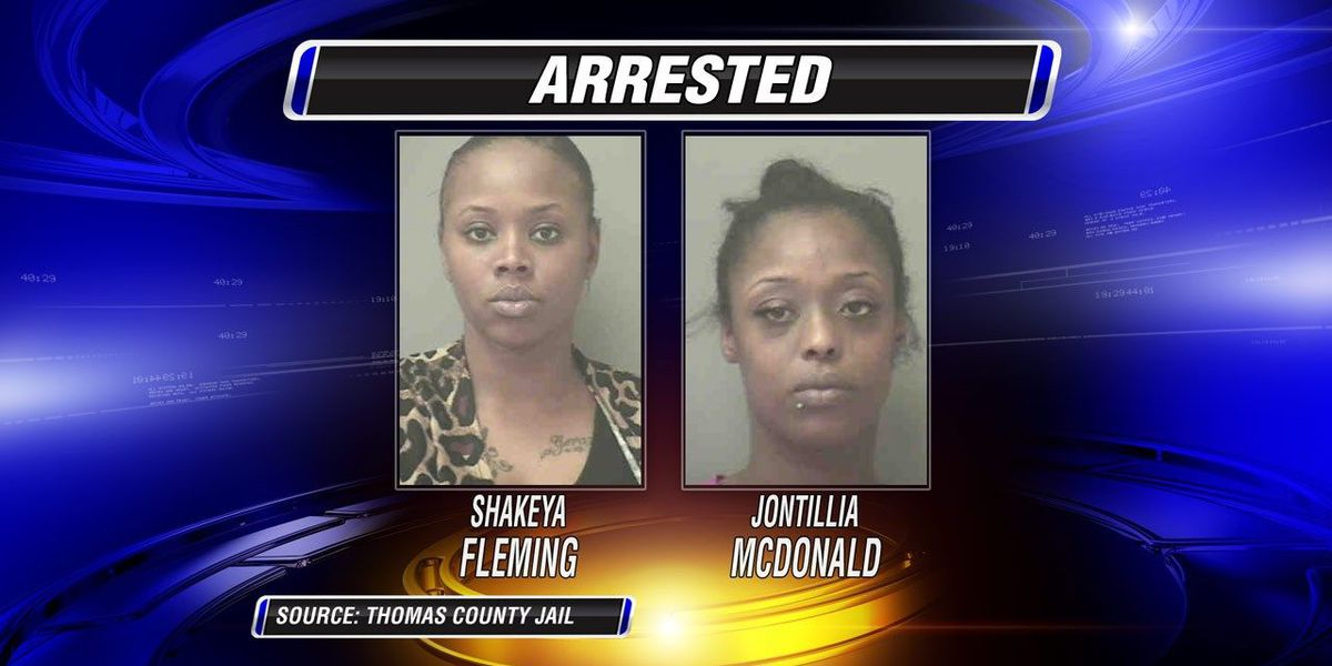 2 women arrested in Thomas co. drug bust