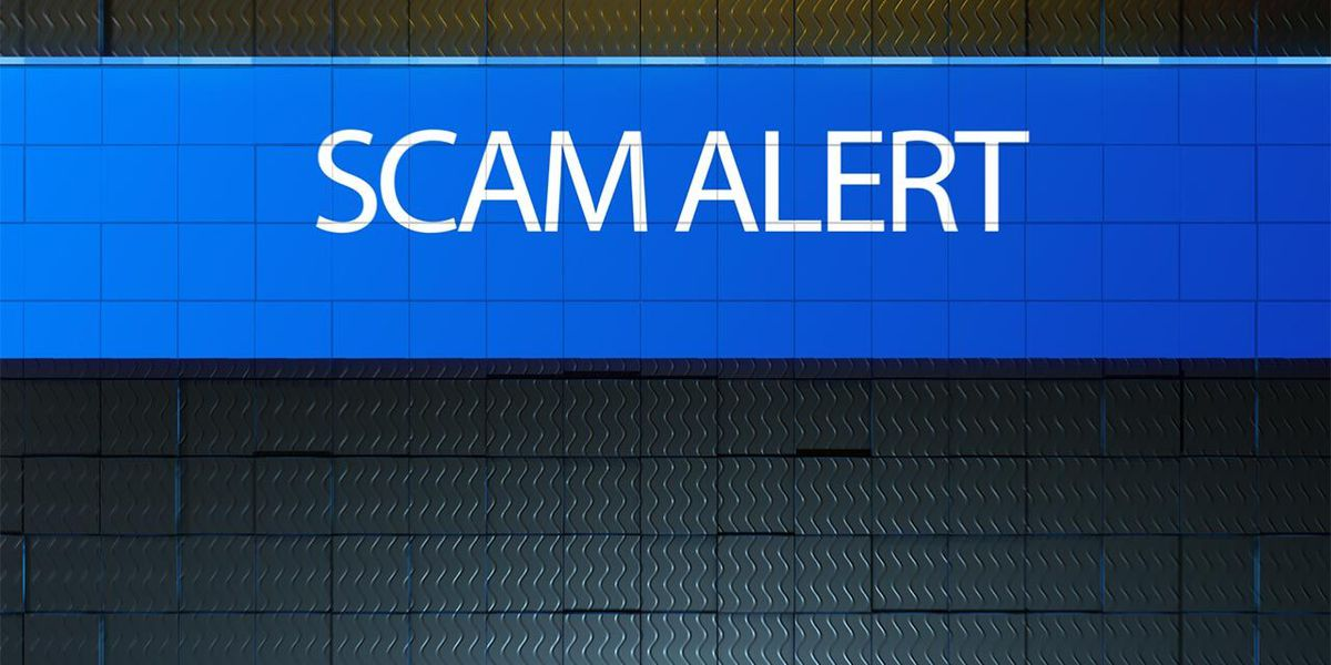 Check recipient warns of mail scam