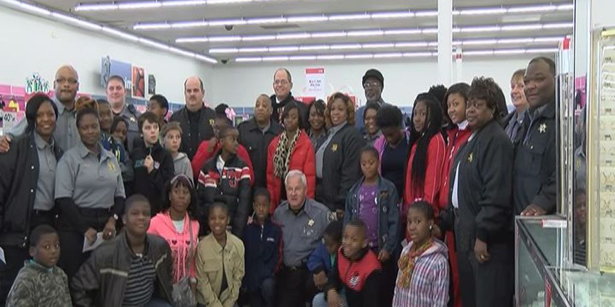 Shopping with Dougherty County Sheriff's Office