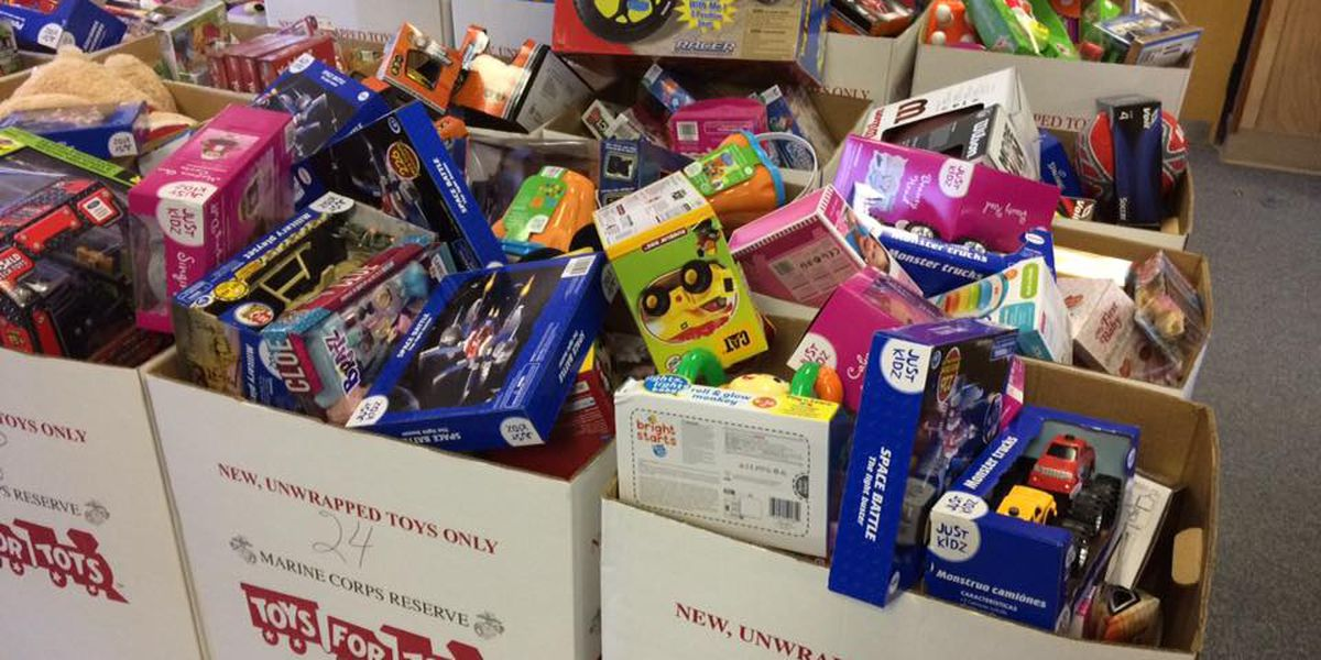 GSP troopers donate to Toys for Tots