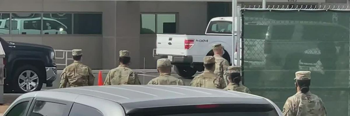 Military members help out in El Paso hospitals, morgue