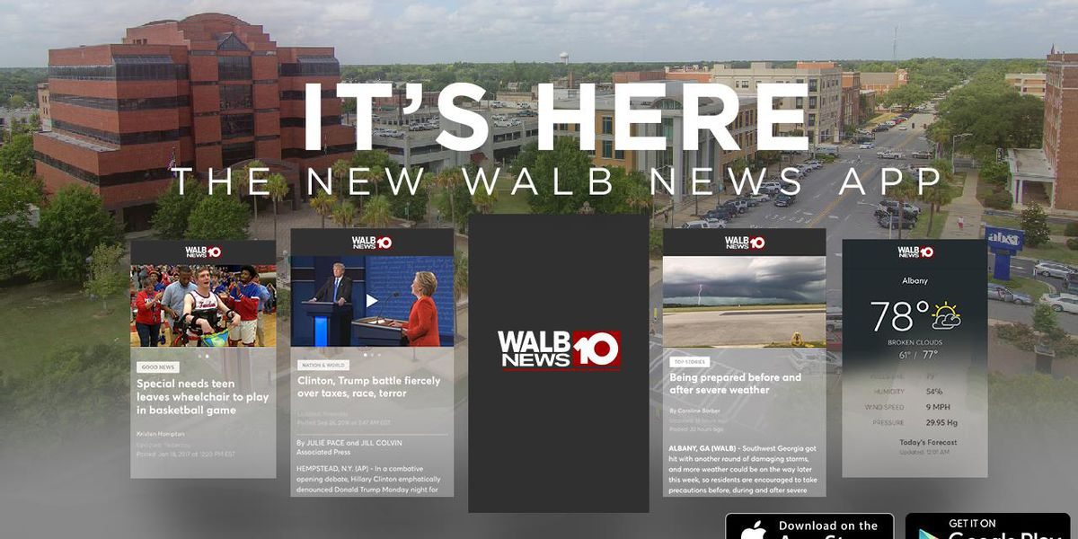 It's here! Update the new WALB News 10 app