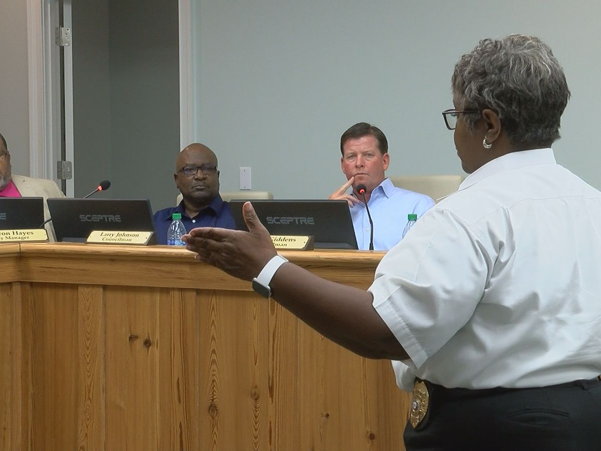 Police chokeholds discussed at Monday's Sylvester City Council meeting