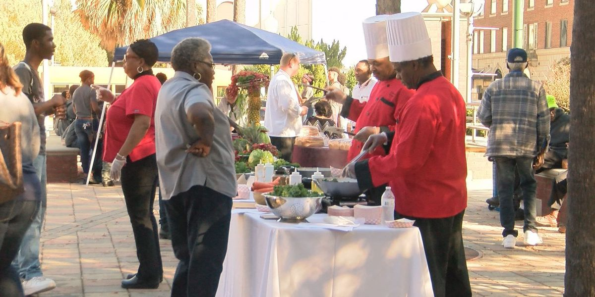 'Chef on the Lawn' promotes healthy eating