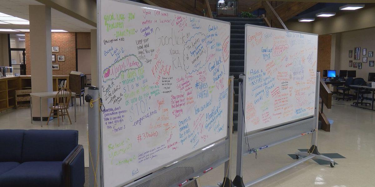 """White Board of Success"" motivates GSW students"