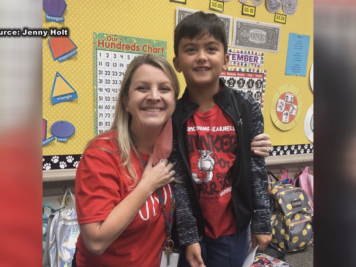 Thomasville teacher recognized for dedication during challenging times