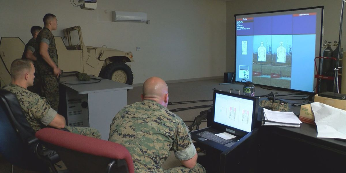 Marines and sailors train with technology in marksmanship exercise