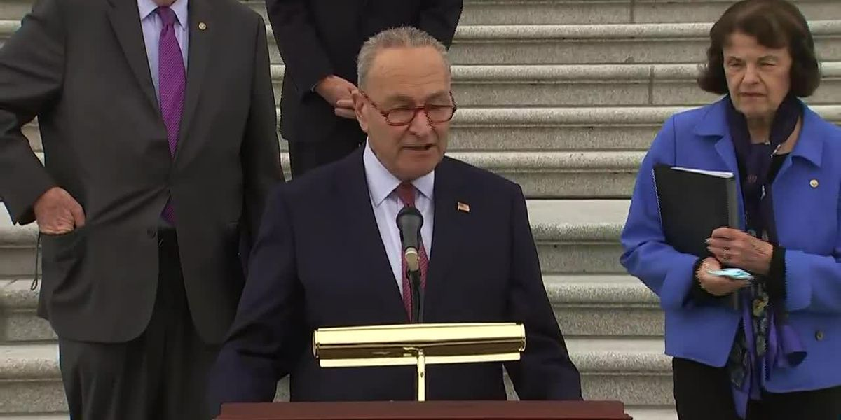 Schumer: 'A Republican majority has left us no choice' but to boycott Barrett panel vote