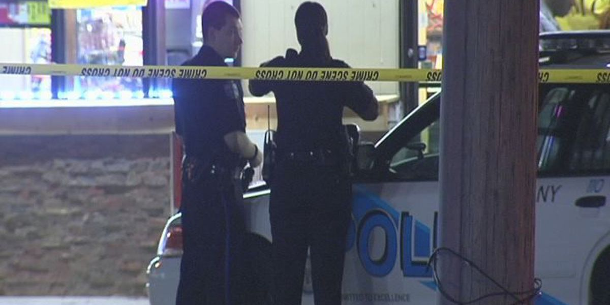 APD searching for two men after overnight armed robbery