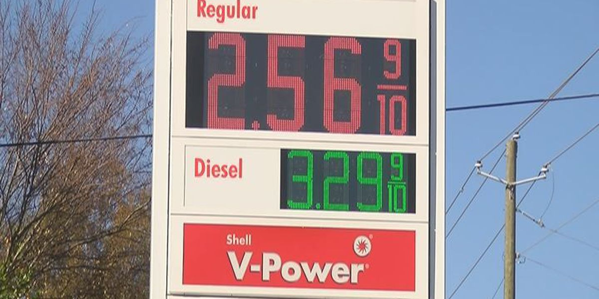 Cheap gas helps travel plans