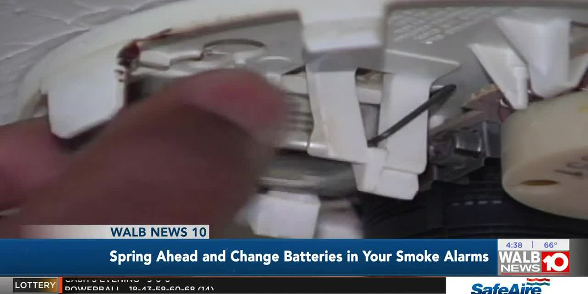 Interview: Spring ahead and change batteries in your smoke alarms