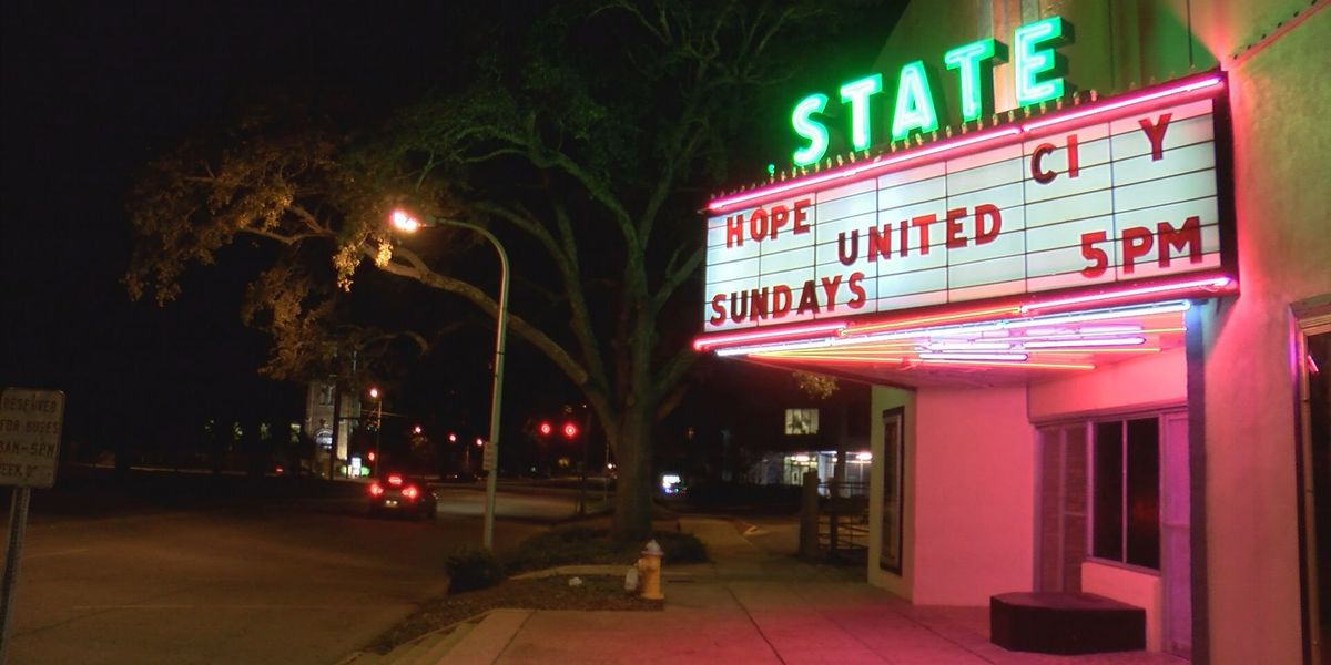 State Theater opens as shelter
