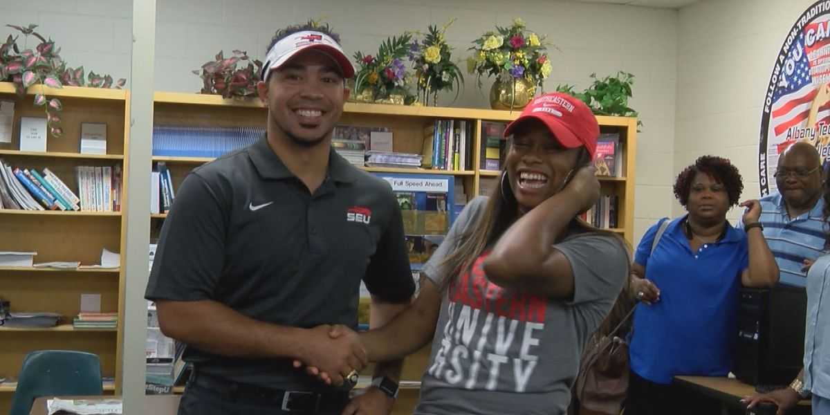 Terrell County track star heading to southeastern university
