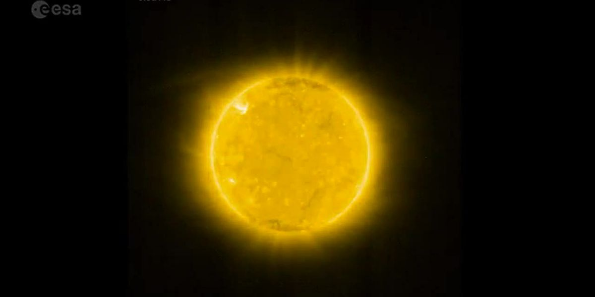 Stunning views of the sun released by space agencies