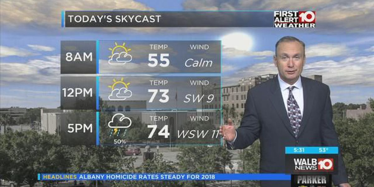 First Alert Forecast: Partly cloudy, dry for Friday