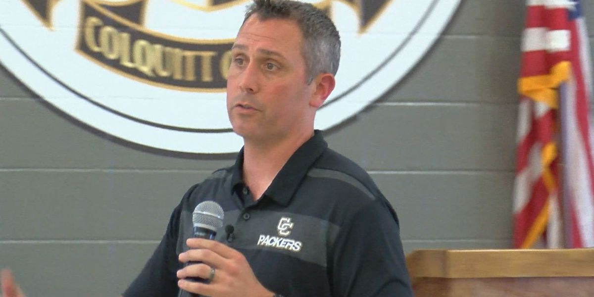 Meet and greet held for Colquitt Co. High School Football Coach
