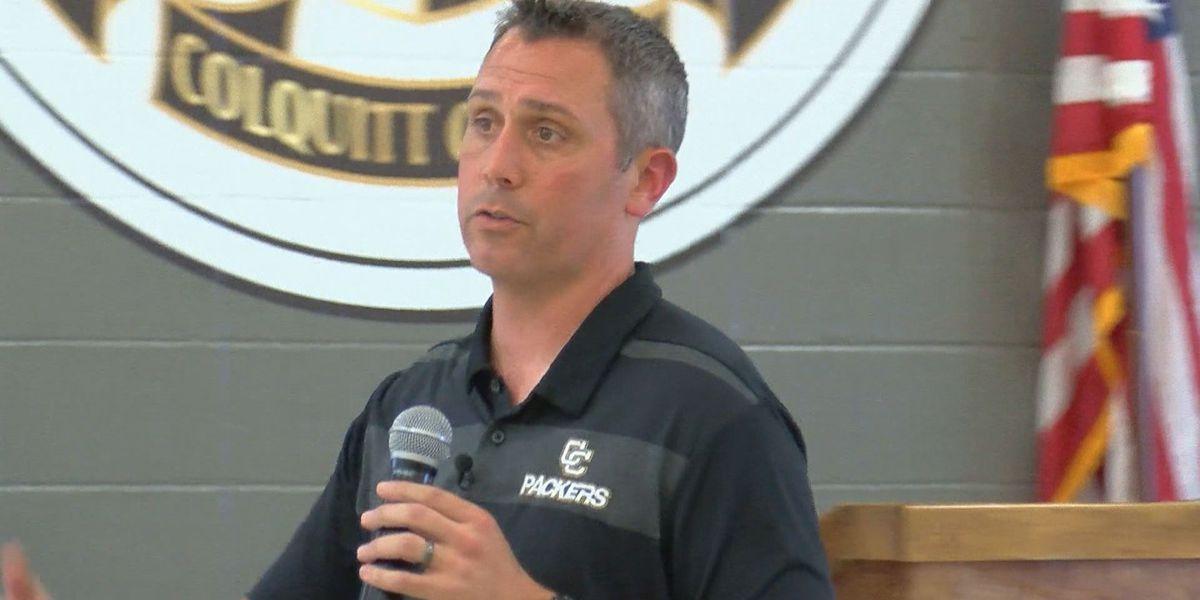 Meet and greet held for Colquitt Co. High School Football Coach
