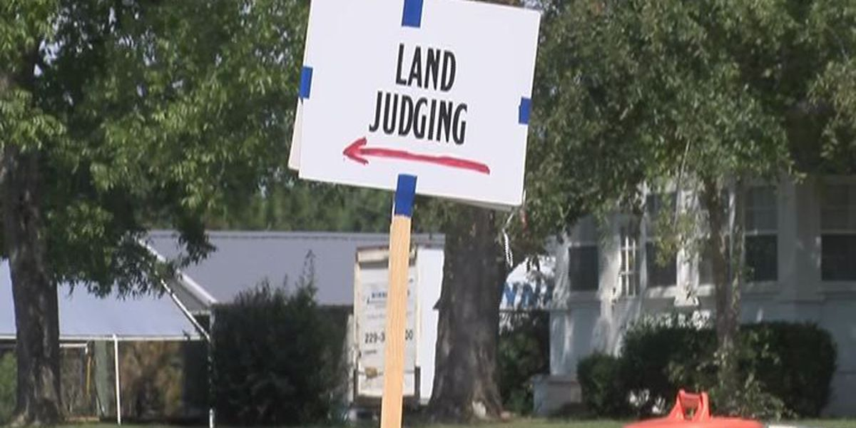 Land judging competition takes over Tifton