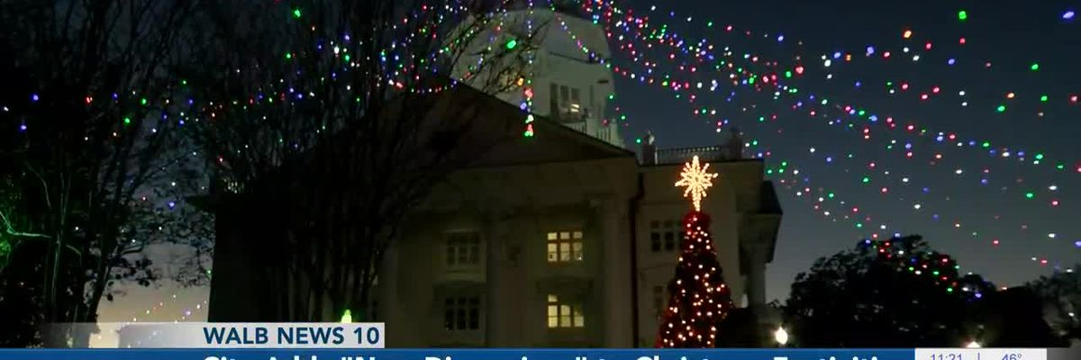 """City adds """"new dimensions"""" to Christmas festivities"""